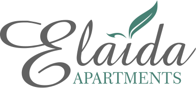 Logo of Elaida apartments in Sifnos